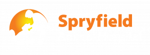 logo of spryfield animal hospital in halifax nova scotia